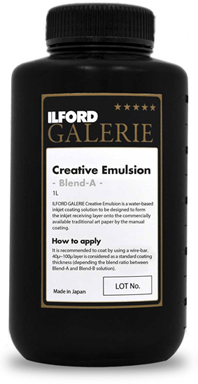 ILFORD Creative Emulsion Blend A<br>Solution liquide de couchage jet d\'encre A (1L)
