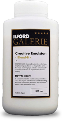 ILFORD Creative Emulsion Blend B<br>Solution liquide de couchage jet d'encre B (1L)