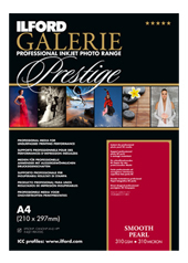 GALERIE Prestige Smooth Pearl, papier photo 310g/m2<br>Format : A4 (25 feuilles)