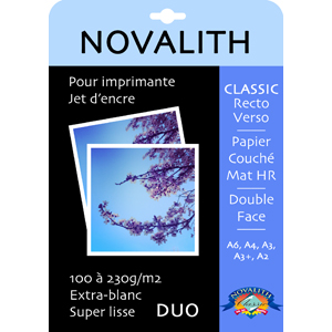 Classic 300 Double Side, thick photo matt paper 300gsm<br>Size : 10x15 (50 sheets)