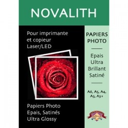 Papier Photo Laser Ultra Brillant 180g/m2<br>Format : SRA3 (100 feuilles)